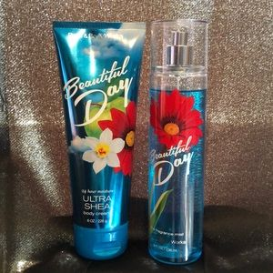 Bath & Body Works Other - ⚠️FIRM⚠️Beautiful Day Combo
